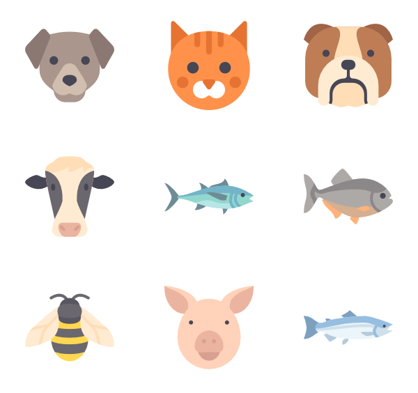 svg library library flat vector animal #96699276
