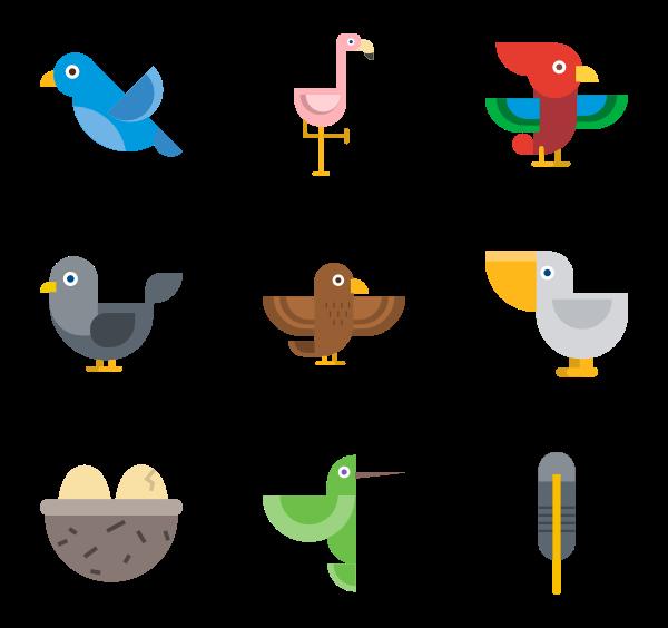 clip Bird Icons