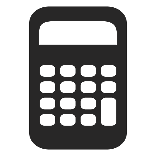 svg freeuse download Flat calculator icon