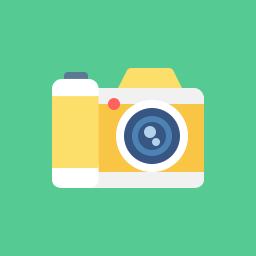 jpg Camera Icon Flat