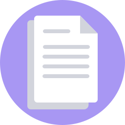 freeuse library Documents Icon Flat