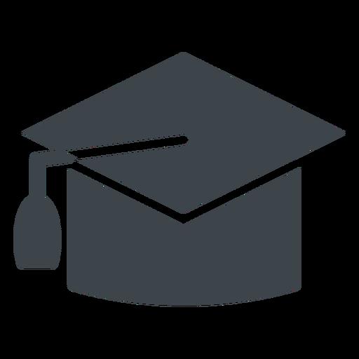 clip art royalty free Graduation hat flat school icon