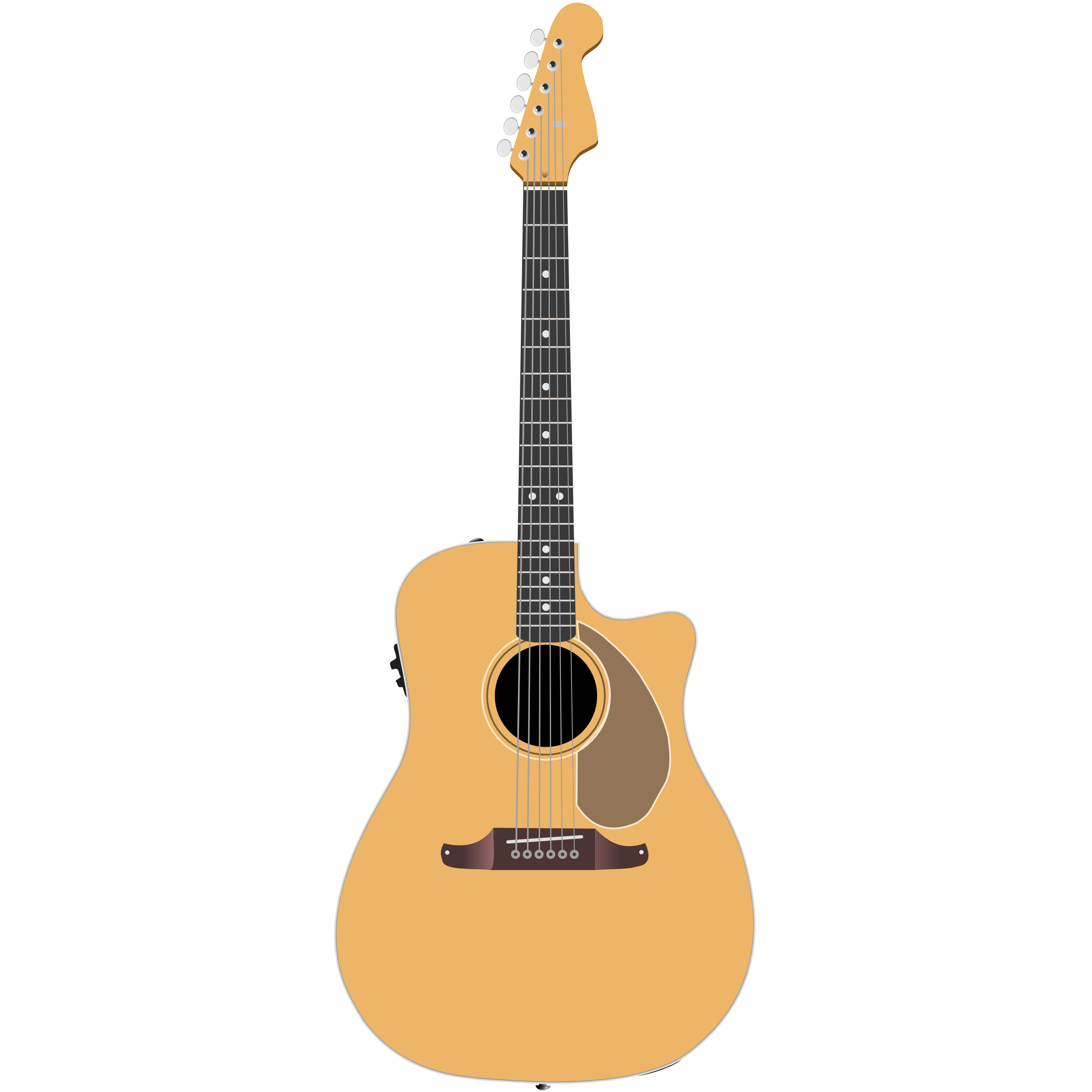 image royalty free Free Vector Guitar