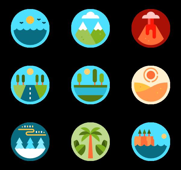 jpg freeuse Mountain Icons