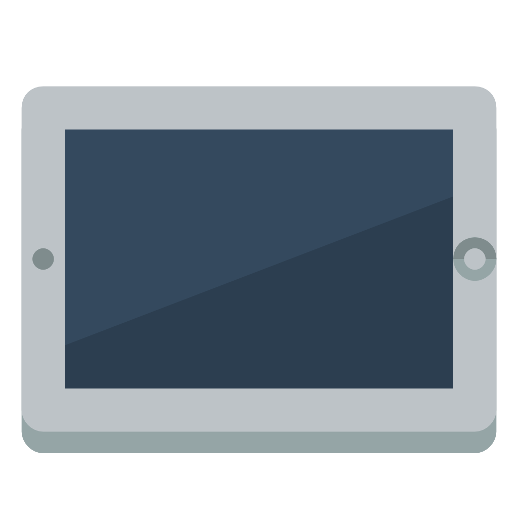 picture black and white library Device tablet Icon