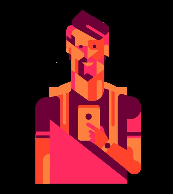 clip art freeuse download Flat vector illustrations on Behance