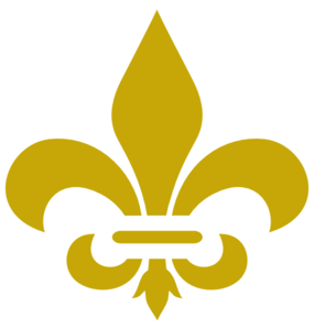 graphic transparent library Fleur de lis clipart. Gold clip art at