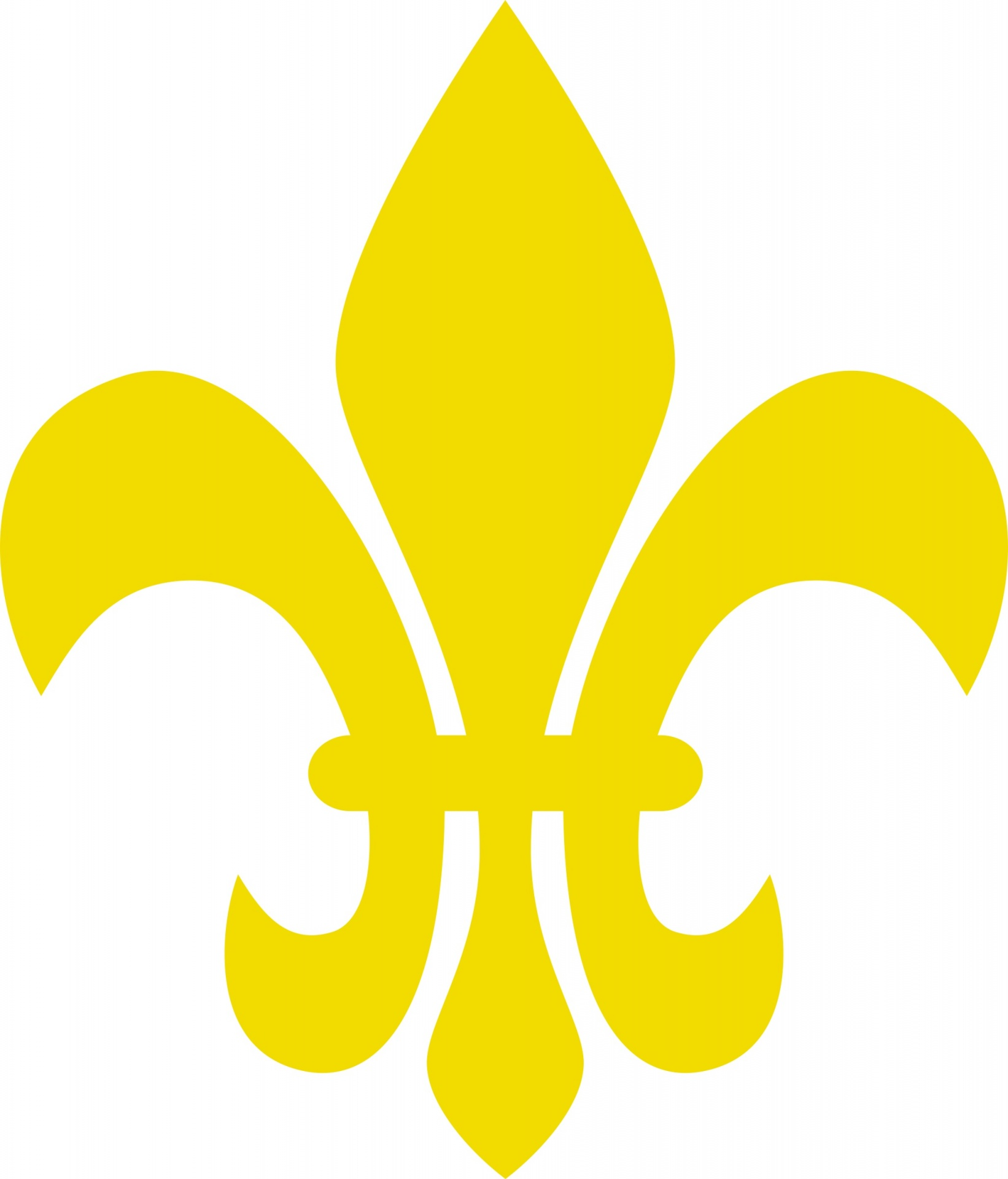 clipart free stock Fleur de lis clipart gold. French symbol free photo
