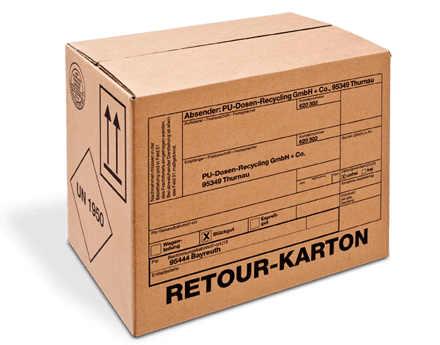 clipart transparent stock Hazardous goods packaging return box