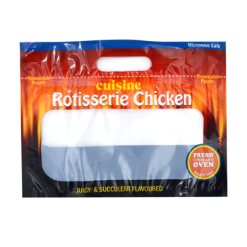 svg transparent download Custom Printed Rotisserie Chicken Bags Roast Chicken Packaging Bag