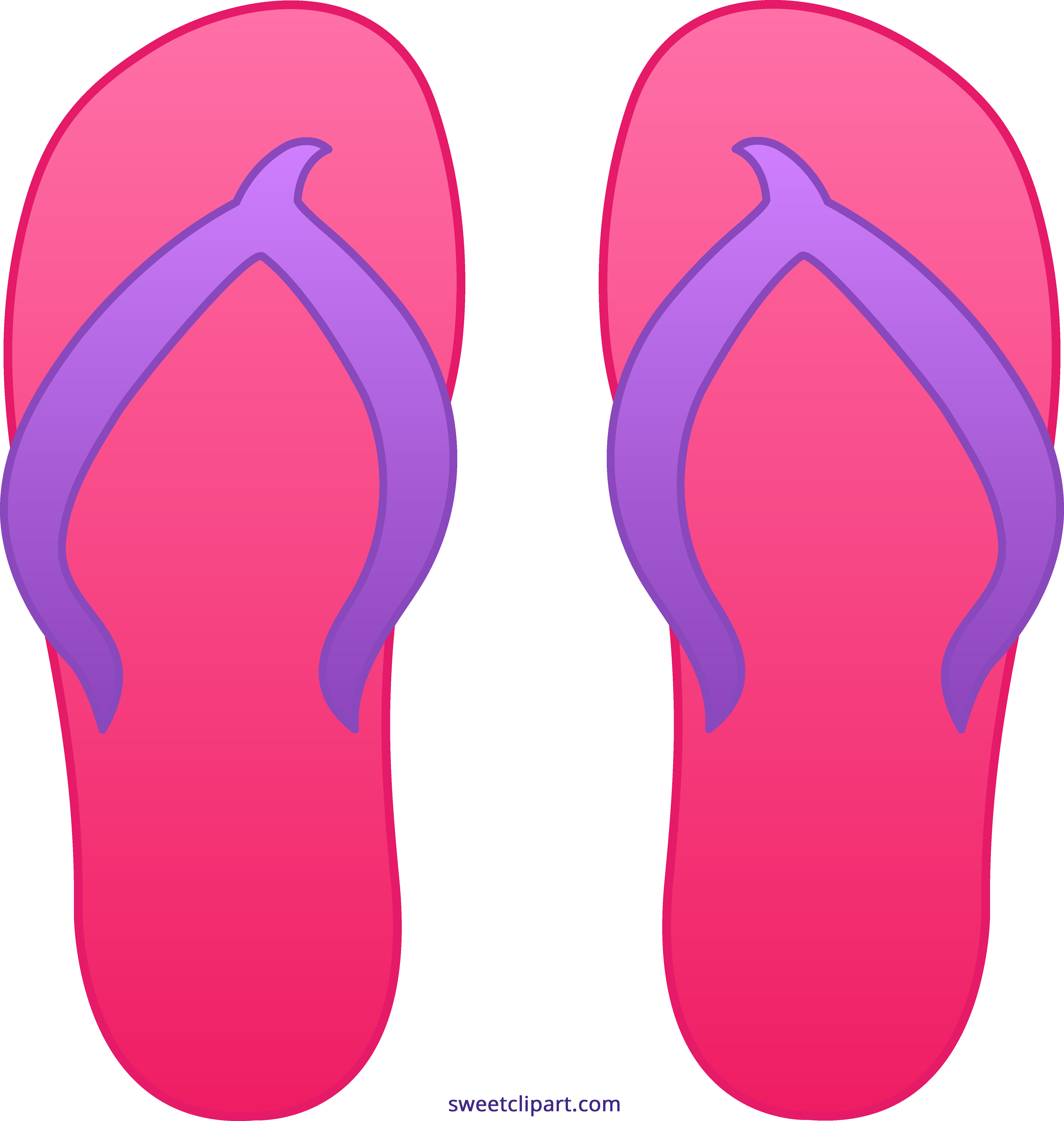 clip art free download Flip flop clipart. Pink flops sweet clip