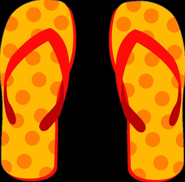 jpg free Flip flops clipart pair slipper