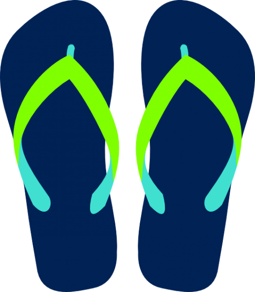 png royalty free download Sandals clipart