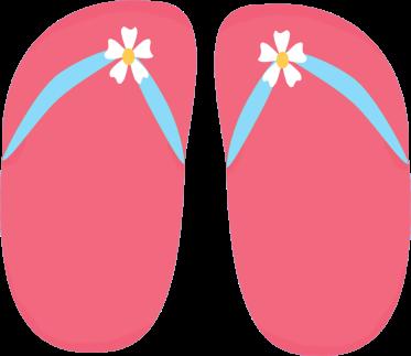 vector free download Flip Flop Clip Art