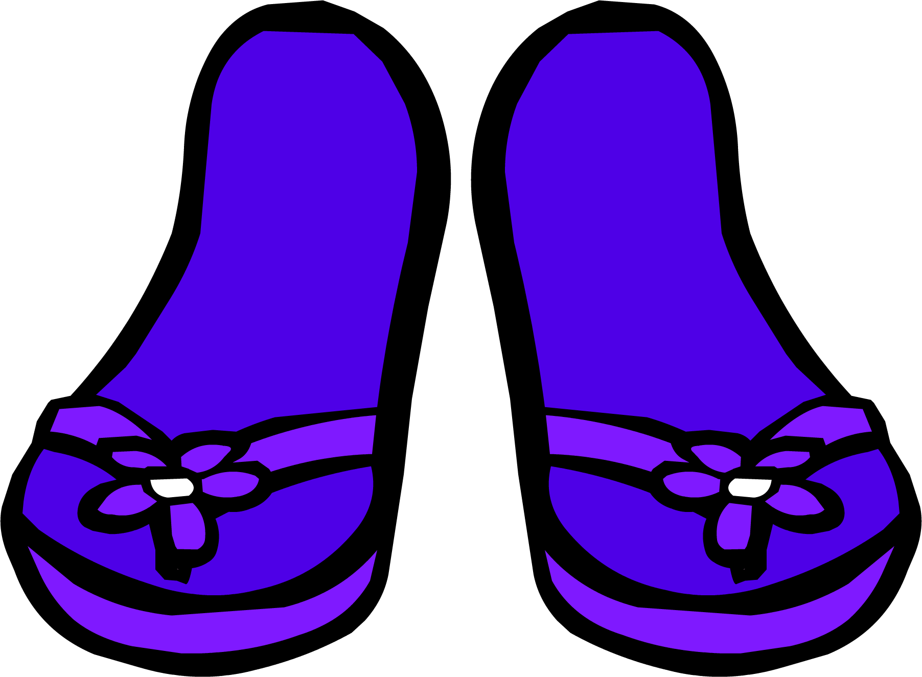 vector library download Purple Sandals