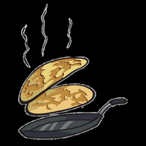 vector royalty free download Pancake Day