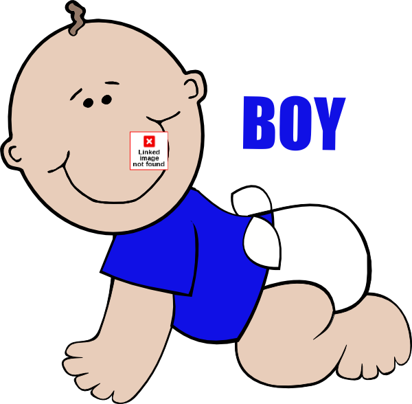 image free Baby boy on crawling. Floor clipart.