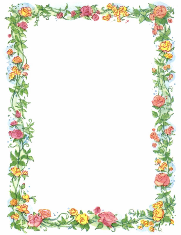vector transparent download Download clip art . Free flower borders clipart