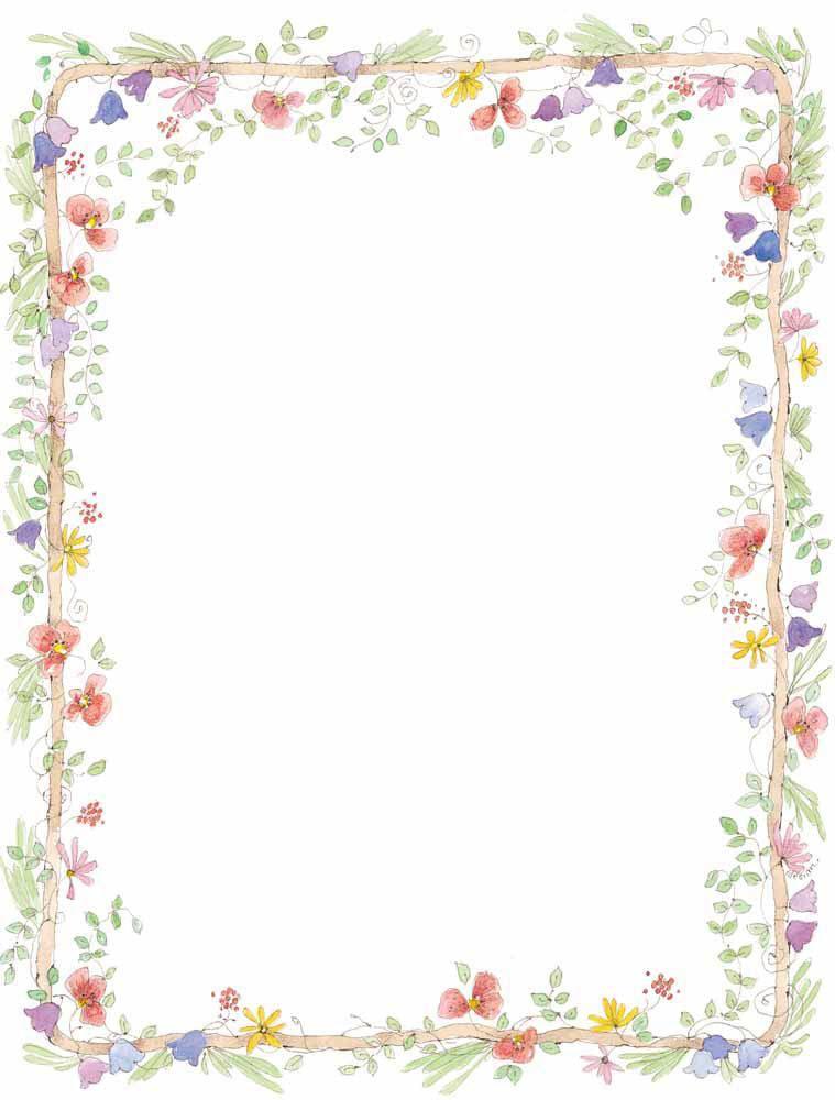 clipart transparent Floral borders clipart. Wedding clip art vector