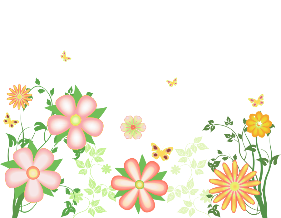 svg transparent download Decorative flowers free gallery. Transparent clipart
