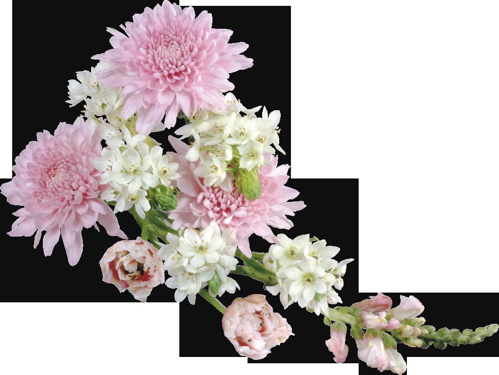 picture royalty free download Transparent Soft Flower Arrangement Clipart