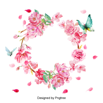 png library download Png images vectors and. Floral wreath clipart