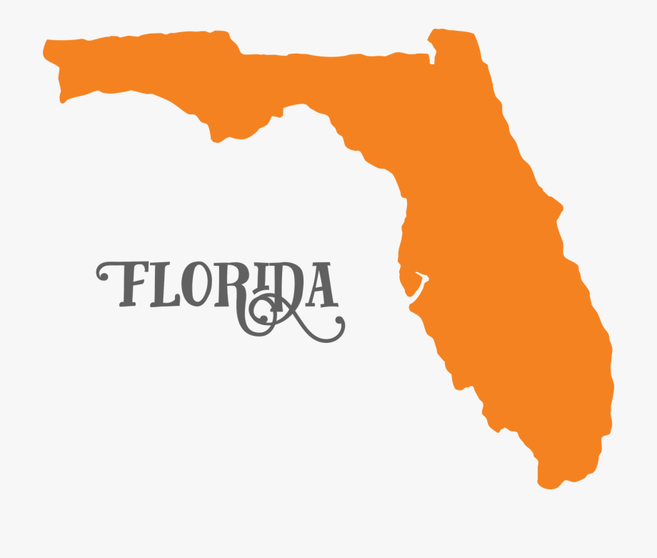 png transparent stock Svg with no background. Florida clipart.