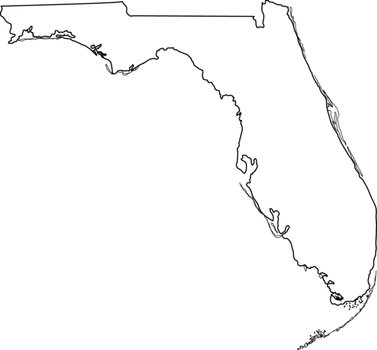 jpg freeuse library State of free . Florida clipart.