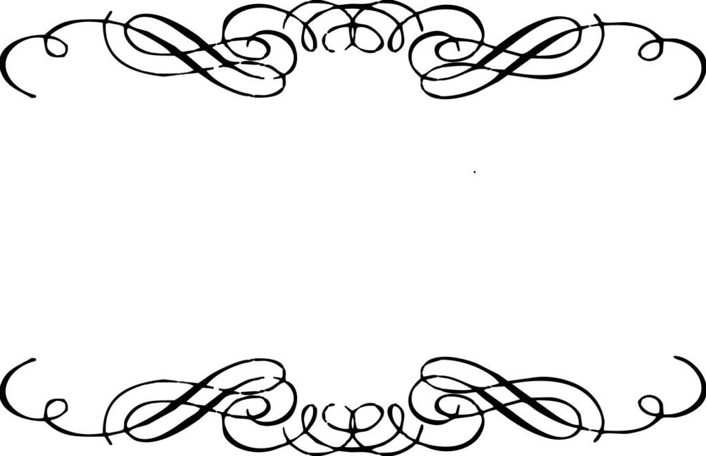 jpg free download Free flourishes boarders clip. Flourish clipart