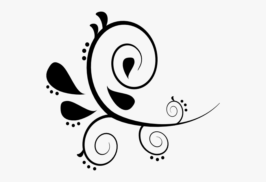 clip art freeuse Flourishes clipart. Free flourish design in.