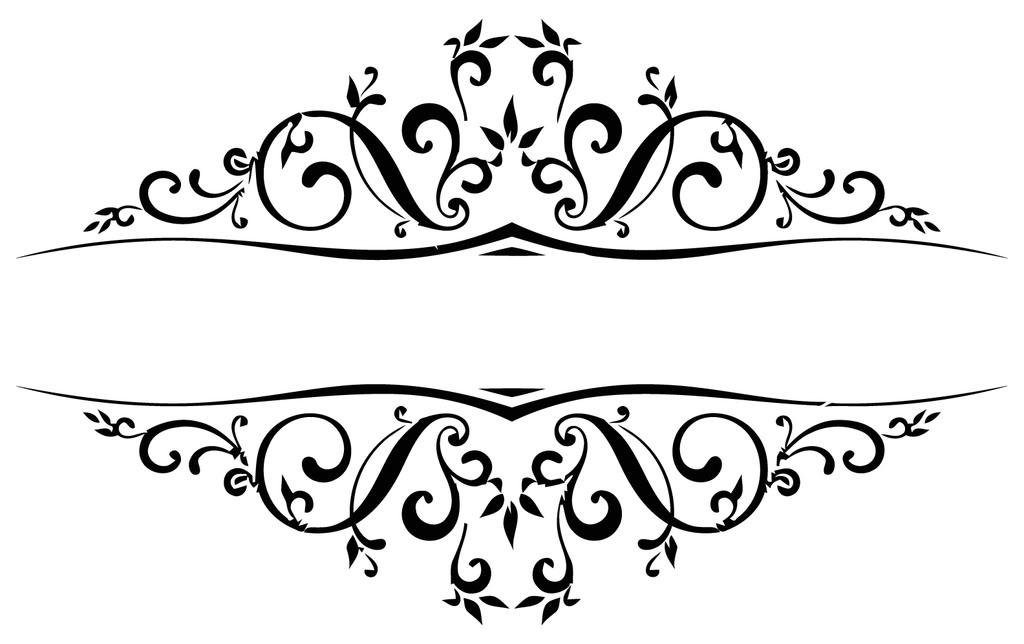 image transparent Flourishes clipart. Free flourish download clip.