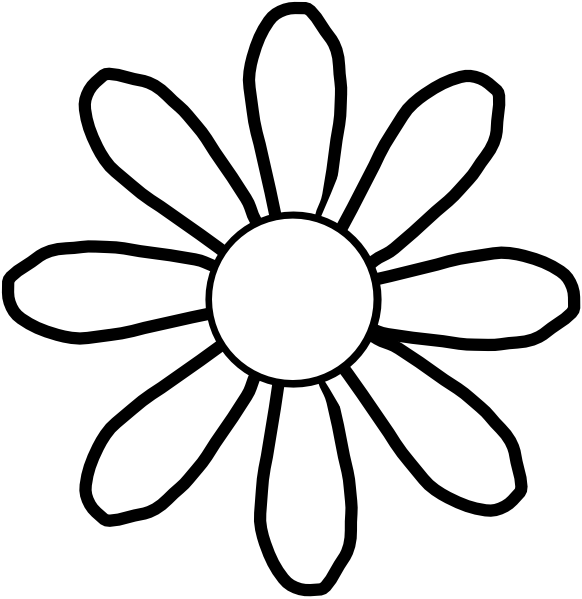 image transparent stock Flower clip art at. Poinsettia clipart black and white free