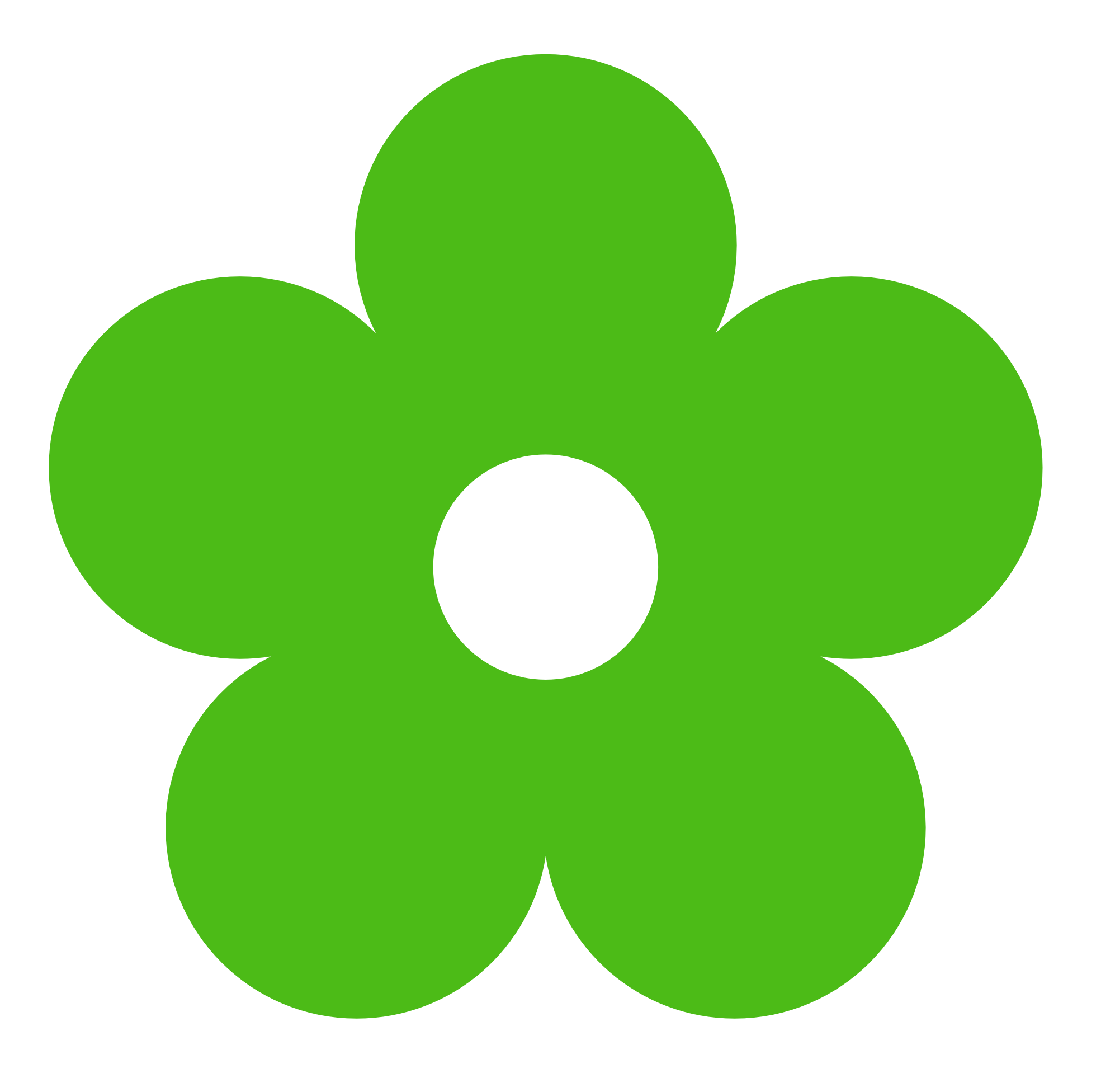 png download Green Flower Clipart