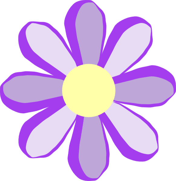 png freeuse download Purple Flower Clip Art at Clker