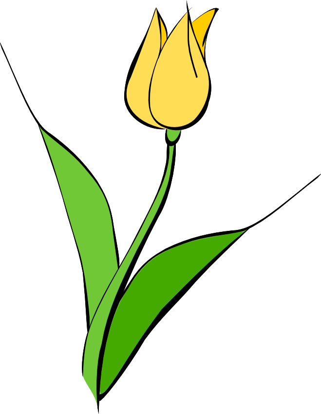 graphic free Free tulip flower clip art