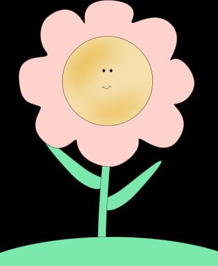 clip art free Clipart happy face. Flower clip art images