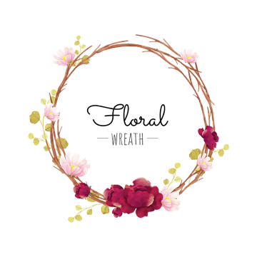 jpg free Flower wreath clipart. Png images vectors and
