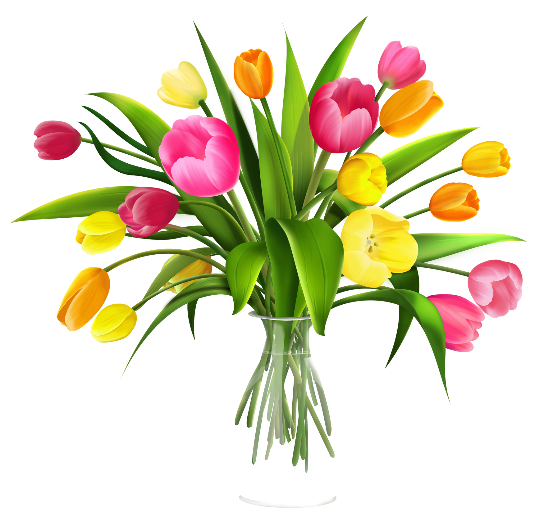 graphic royalty free download Free Clip Art Flowers in Vase