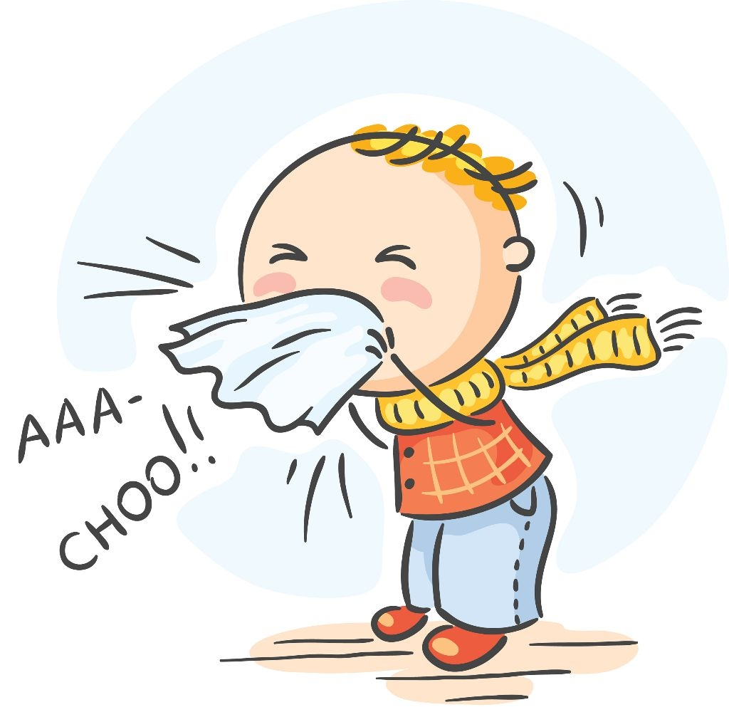 clipart stock Be smart glen forrest. Flu clipart infected person.