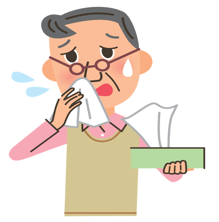 image free library Influenza . Flu clipart infected person.