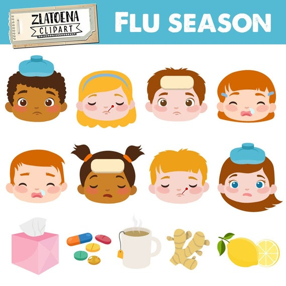 image transparent library Flu clipart sick face. Day ill clip art.
