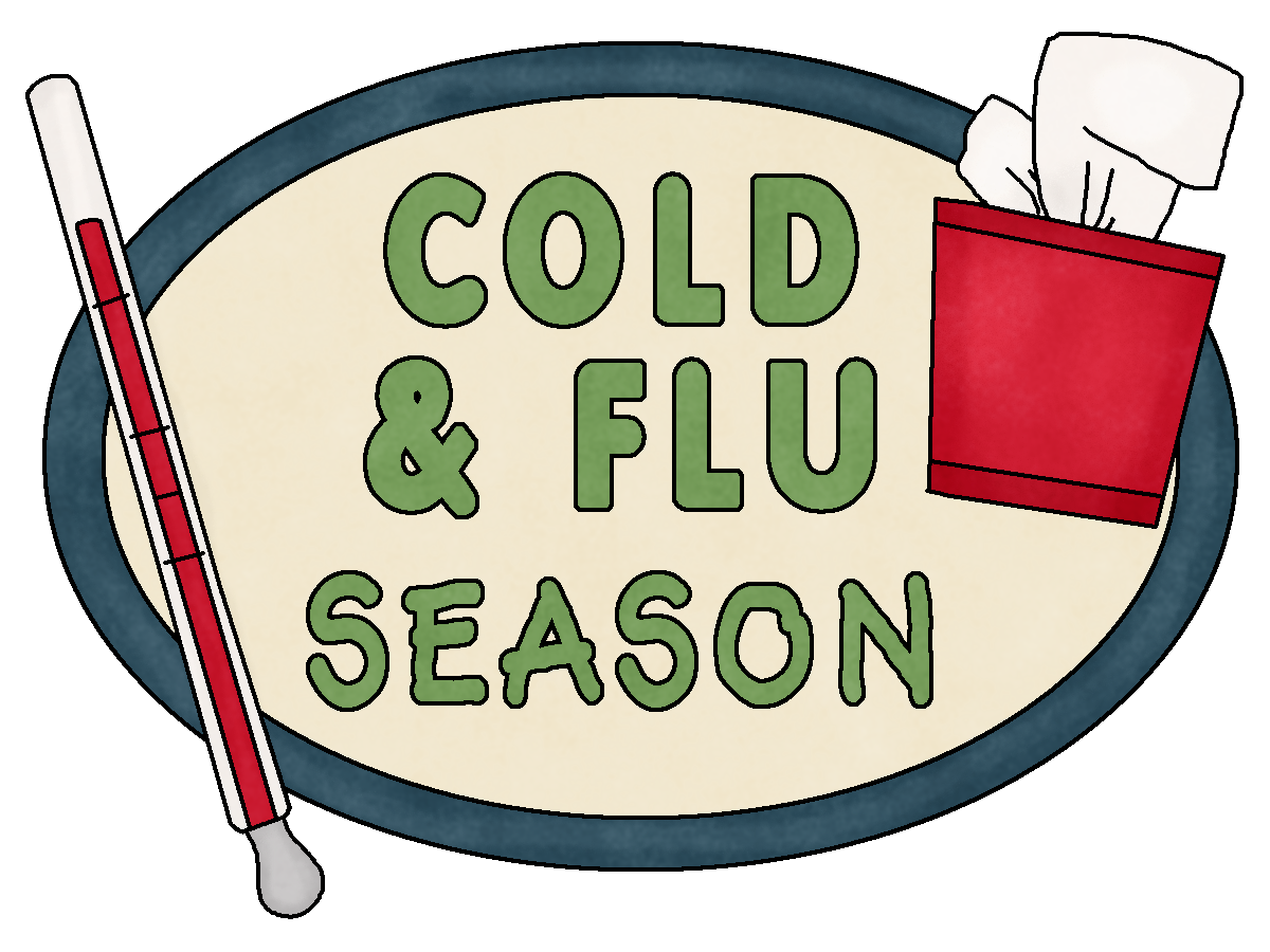 banner stock Clip art cold and. Flu clipart.