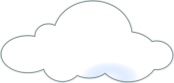 graphic free download Fluffy Clouds Clipart