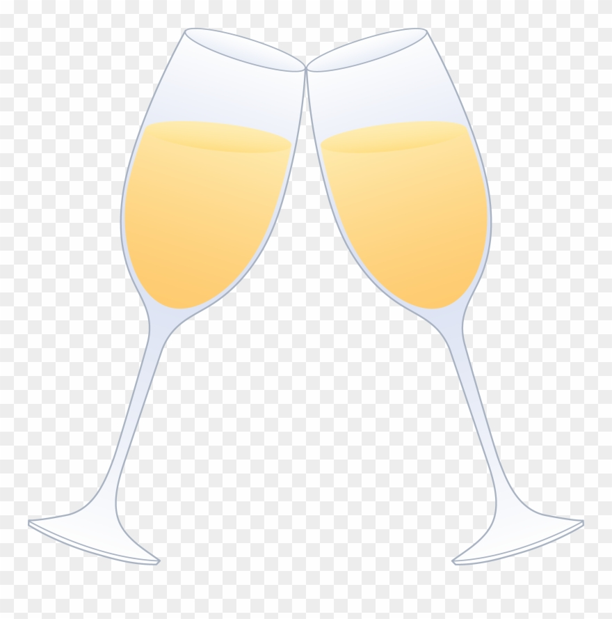 svg black and white download Cheers glass two glasses. Flutes clipart champagne