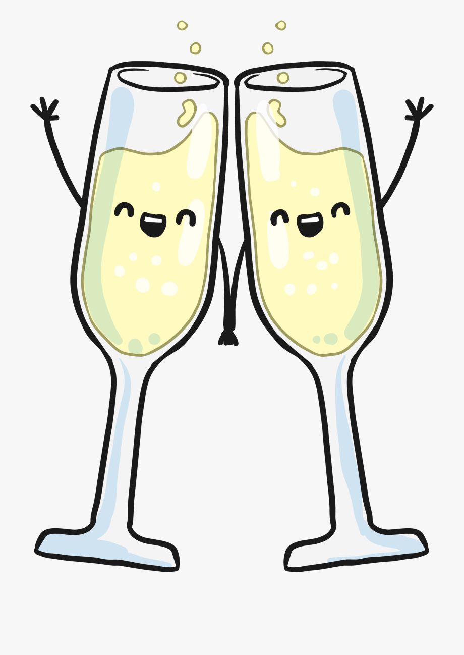 clip art library download Flutes clipart champagne. Hand glass wine in