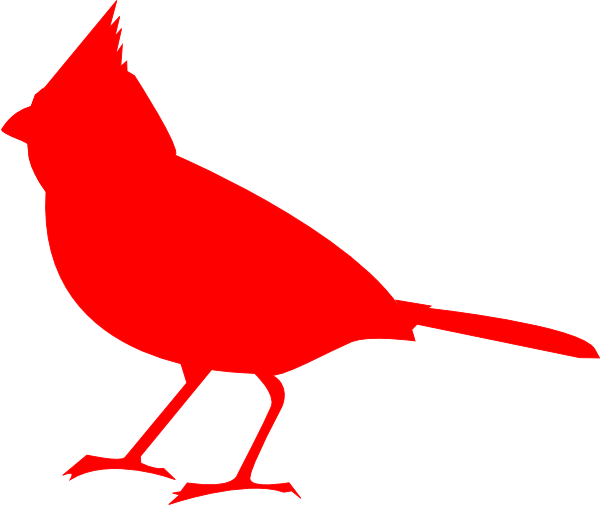 vector library stock Cardinal Silhouette Clip Art at Clker