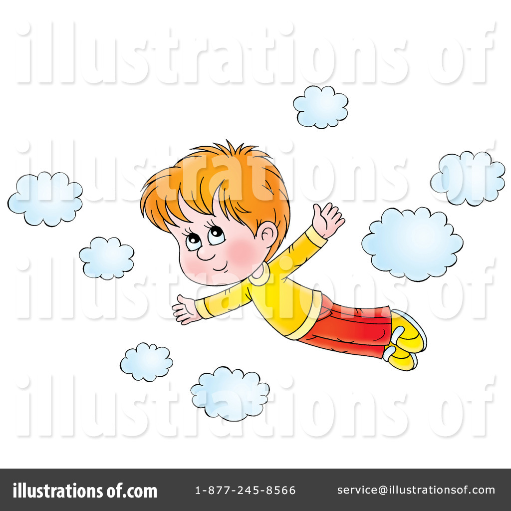 svg royalty free Illustration by alex bannykh. Flying clipart