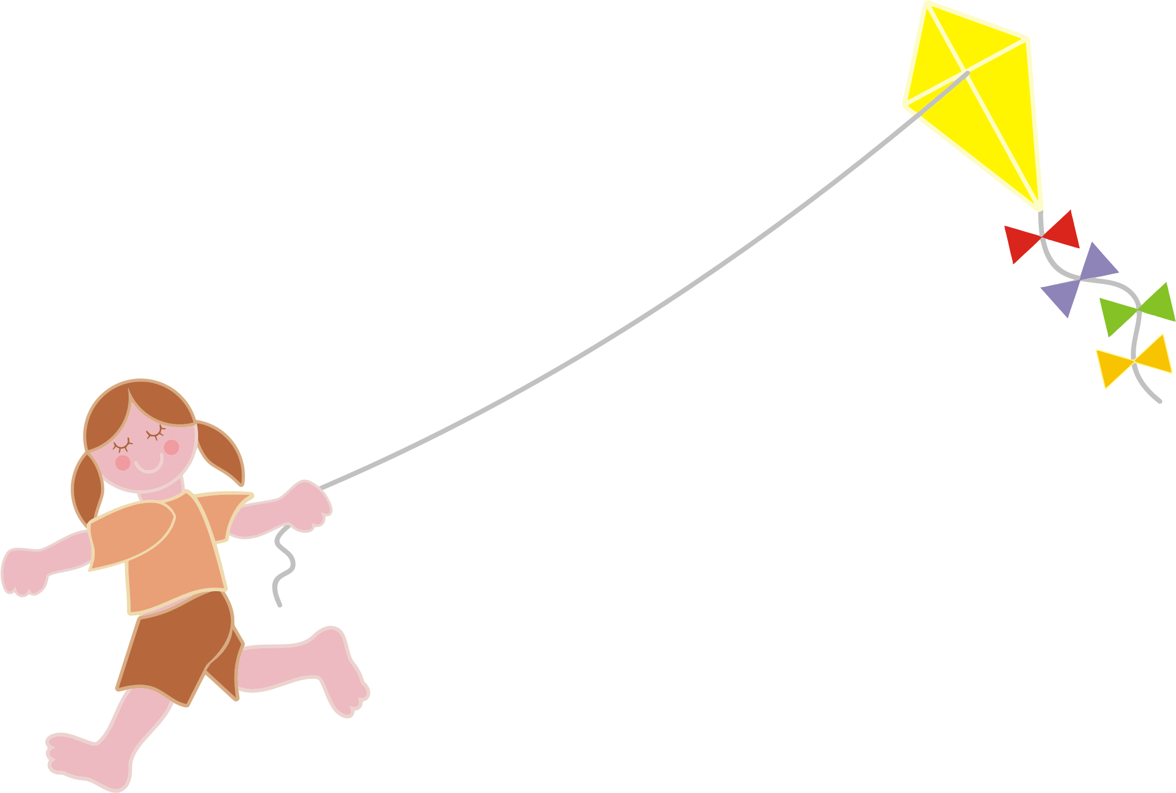 graphic transparent Flying kite clipart. June bonkers away see