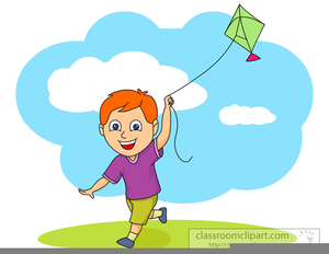 clip library download Children free images at. Flying kite clipart