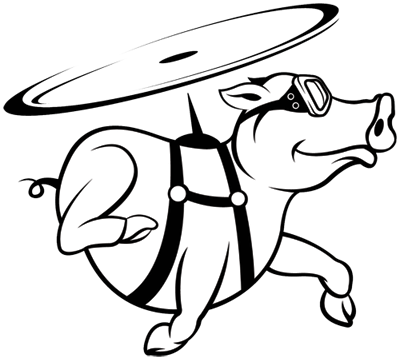 graphic royalty free library Flying Pig Drawing at GetDrawings
